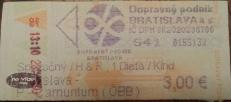 Ticket do bus para o Castelo